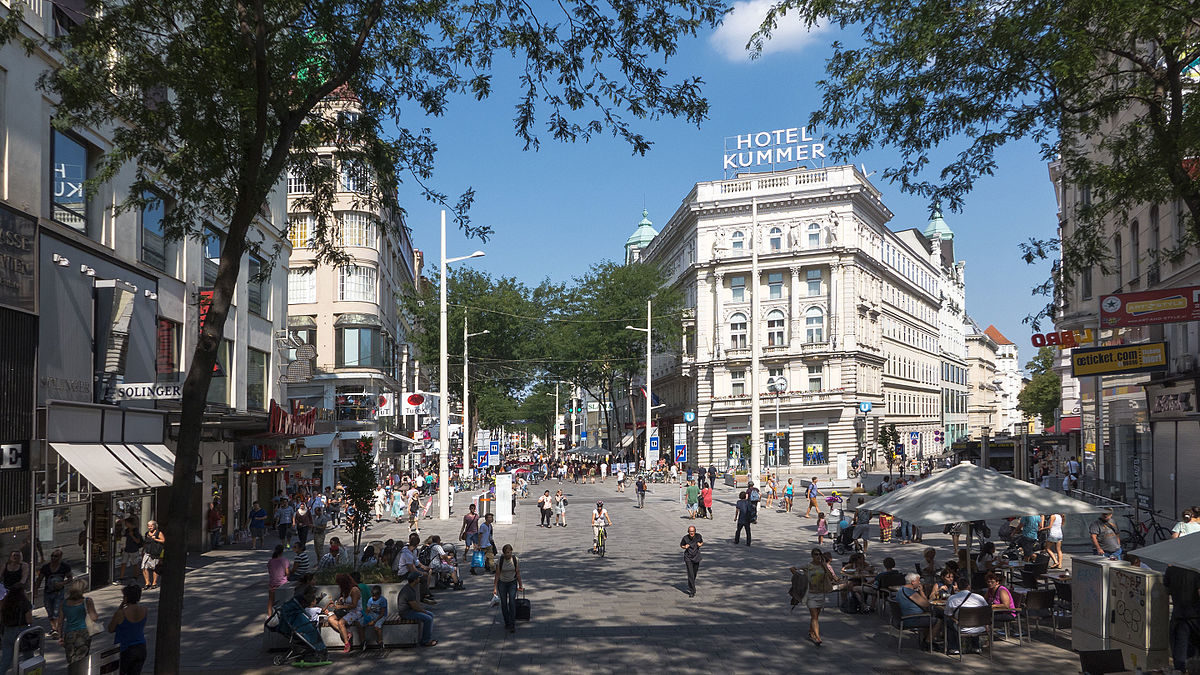 Mariahilfer Strasse Shopping Street