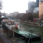 Danube canal Donaukanal