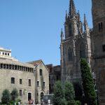 Barcelona Cathedral at Plaça de la Seu