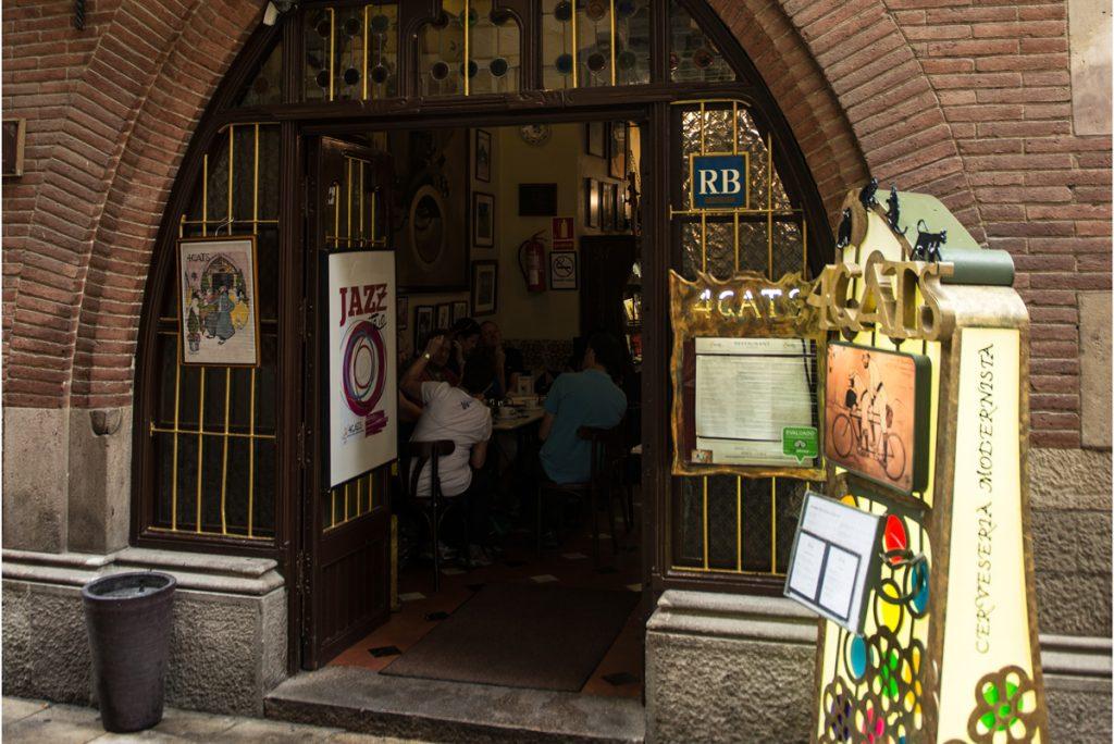 Els Quatre Gats cafe restaurant