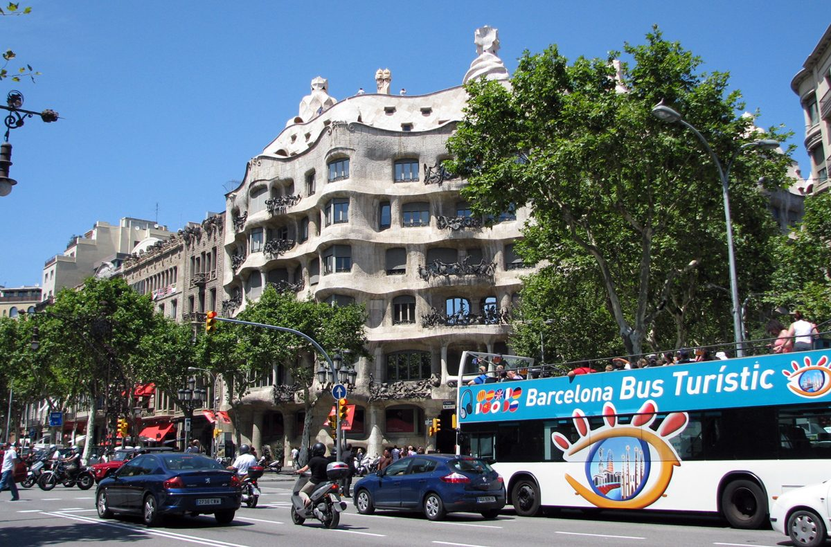 Passeig de Gracia, La Pedrera house