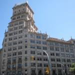 Vitalicio group Tower at Passeig de Gracia