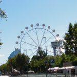 Ferris wheel in Barceloneta