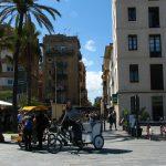 Rikshaw ride in Barceloneta