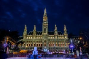 Rathaus - Town Hall in Vienna