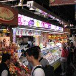 Mercat de la Boqueria - Fruit juice stand