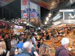 Mercat de la Boqueria - Overcrowded