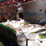 Mercat de la Boqueria - fish stand