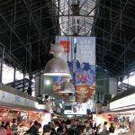 Mercat de la Boqueria iron roof structure
