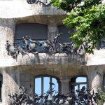 La Pedrera - Wrought Iron terraces