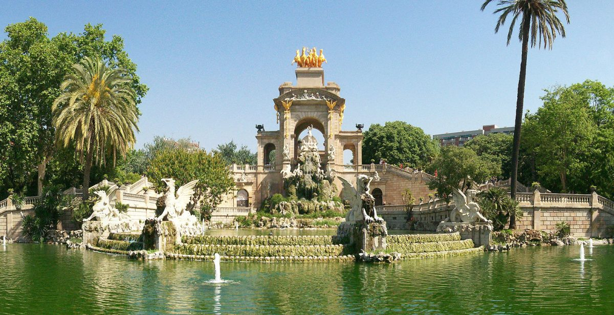 Parc de la Ciutadella - the cascade