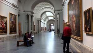 Museo del Prado main exhibition hall