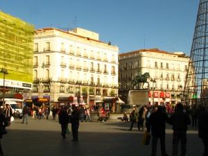 Puerta del Sol, Madrid's central square